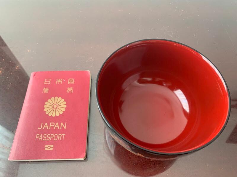 パスポートとの比較画像