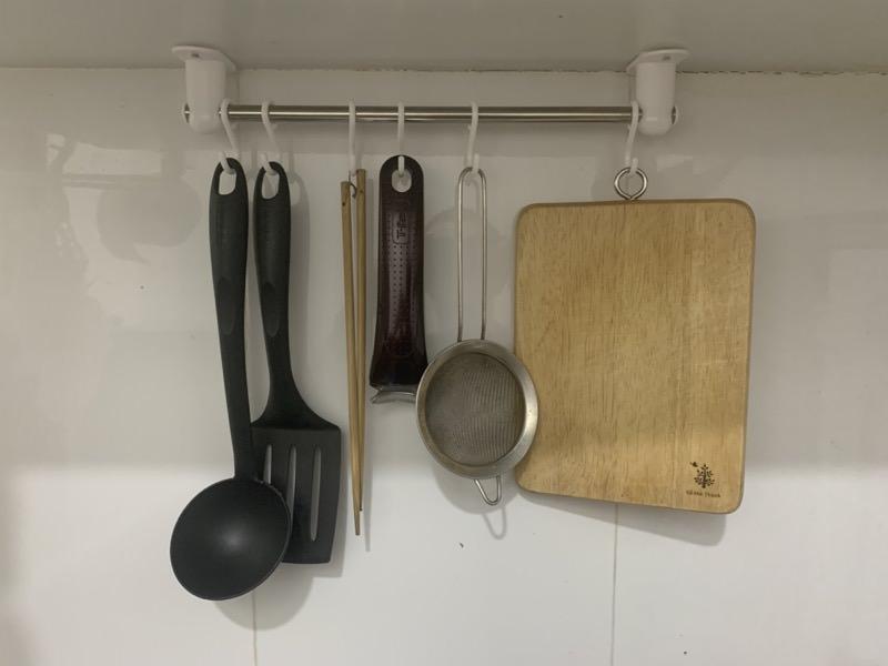 キッチンの戸棚下