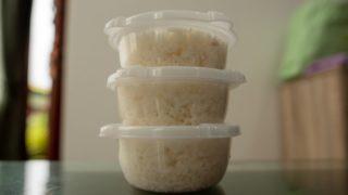 ご飯容器の保存