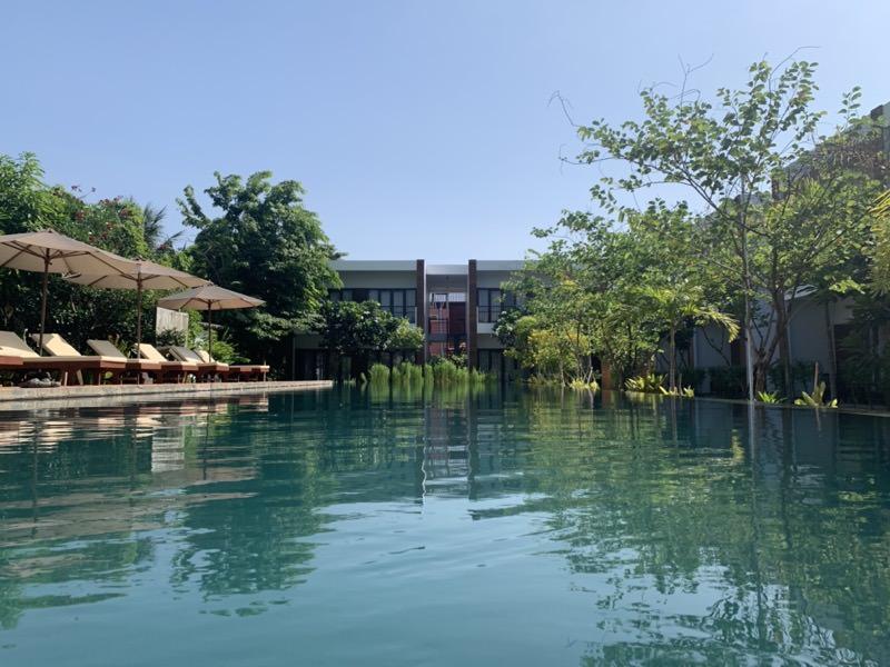 Khmer Houseのプール