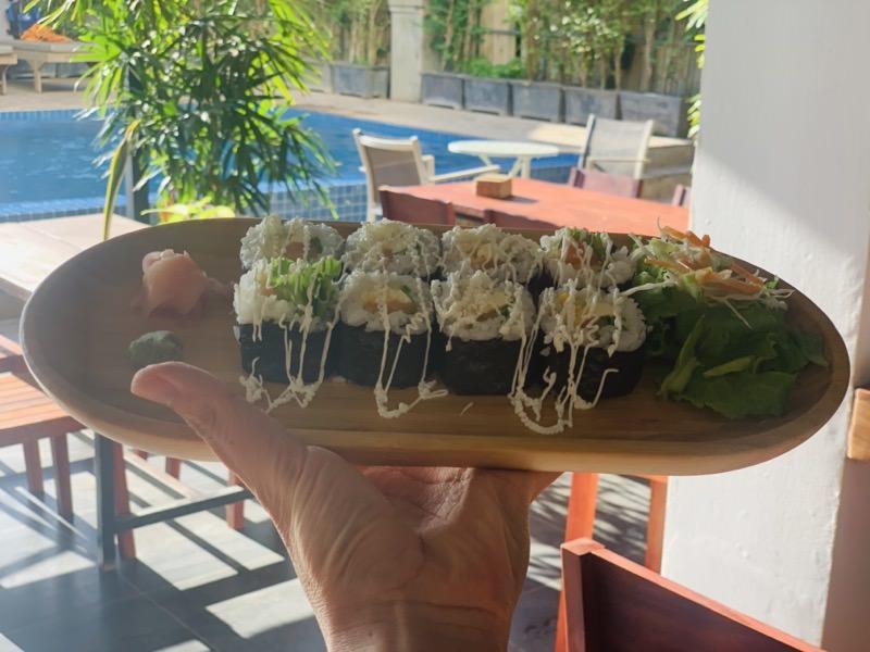 Onederz Hotelの日本食