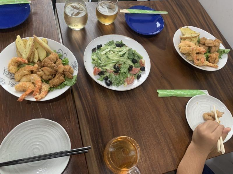 進級祝いディナー