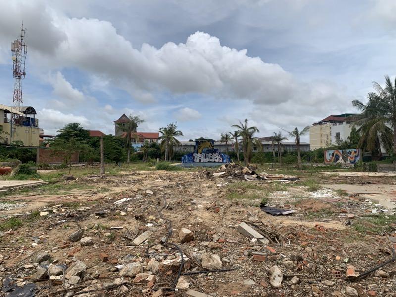 カンボビーチ跡地