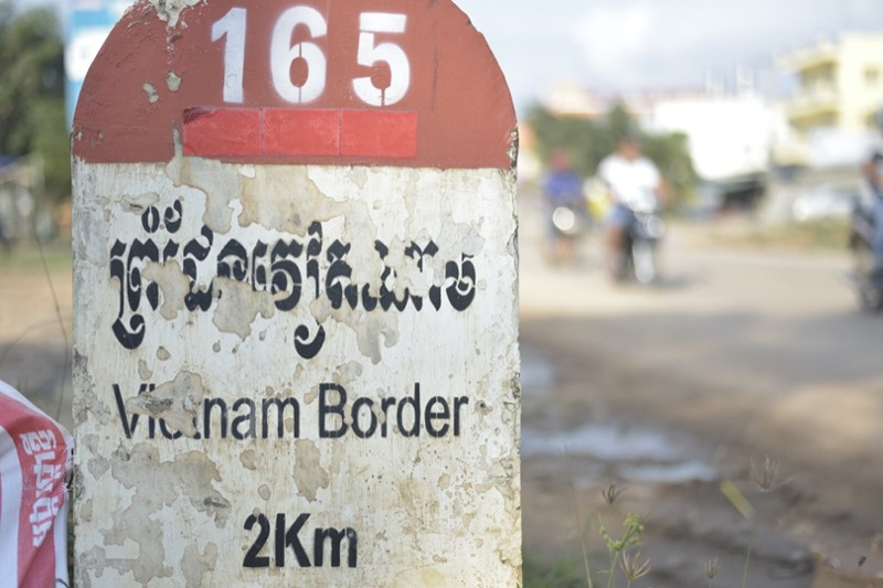 国境までの距離