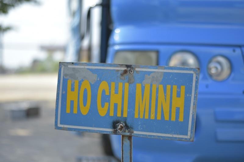 ホーチミン行きのバス