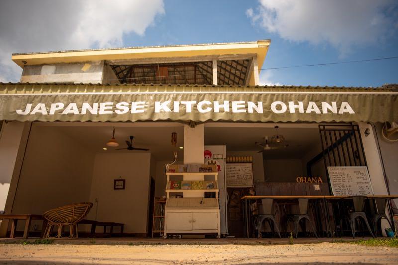 カンボジアでやっているお店の外観