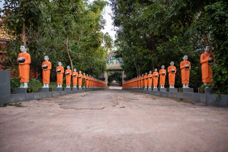 カンボジアのお寺