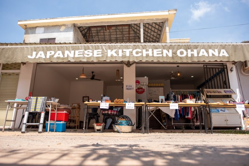 OHANAのフリーマーケット