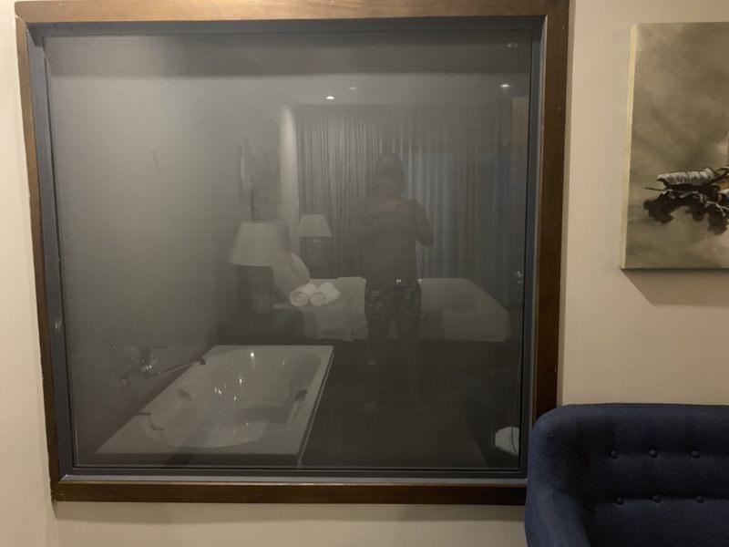 見えないバスルーム