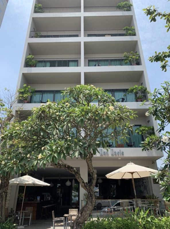 Dan Oasis Hotelの上階